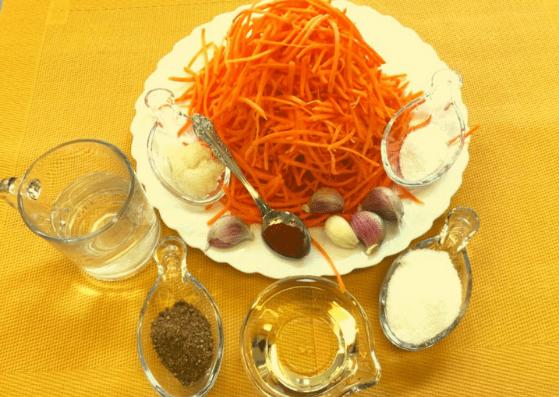 морковь по- корейски