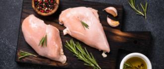 Низкокалорийное филе курицы в духовке