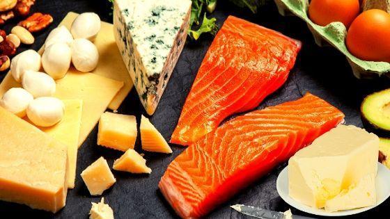 Продукты с высоким холестерином