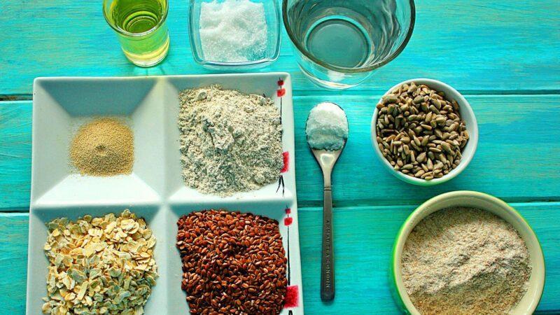 Цельнозерновые хлебцы - рецепт.