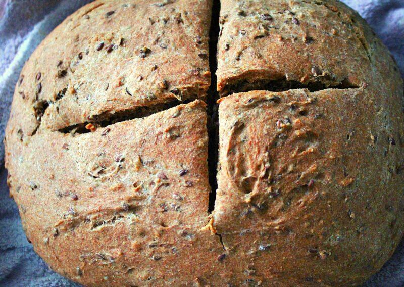 Готовый хлеб из цельнозерновой муки