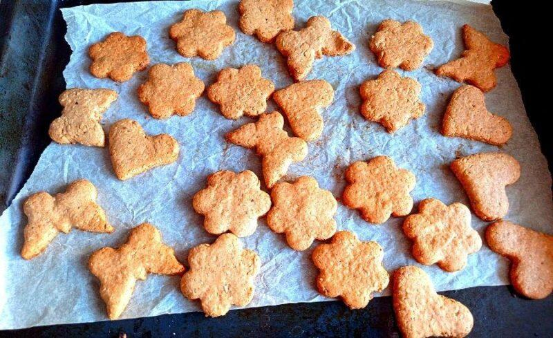 Имбирное печенье.