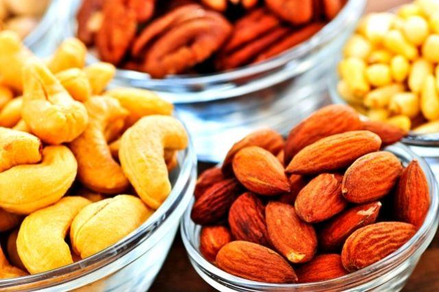 Орехи дают энергию для жизни